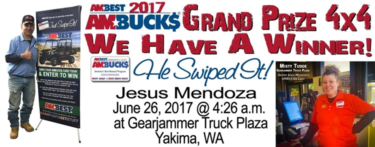 2017 Grand Prize Won at Gearjammer Truck Plaza