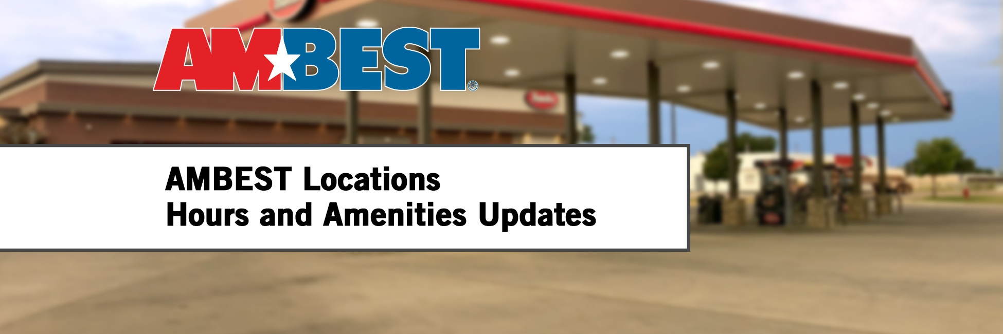 Locations Hours Amenities Update